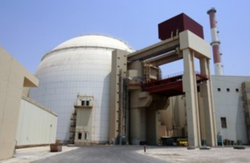 Iran's Bushehr nuclear reactor 311 Reu (photo credit: Raheb Homavandi / Reuters)