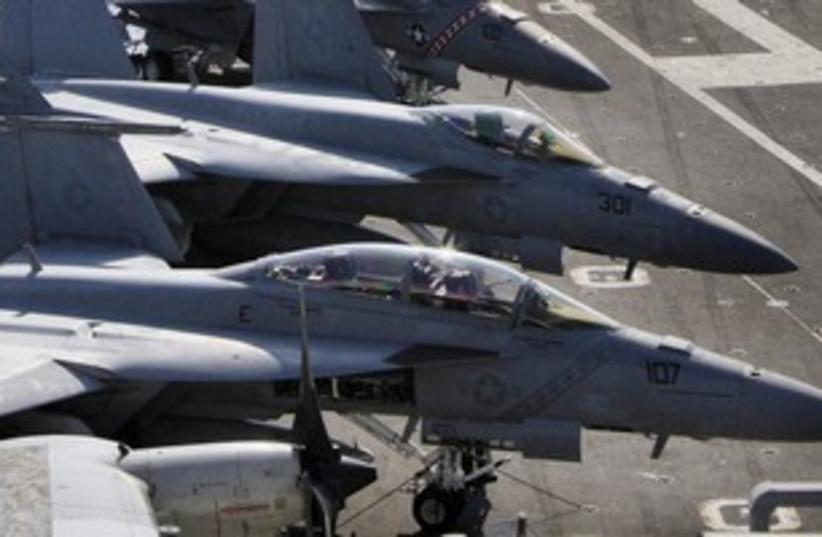 US Fighter Jets 311 Reuters (photo credit: REUTERS)
