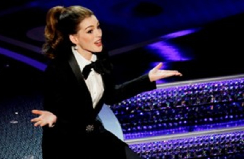Anne Hathaway 311 (photo credit: Reuters)