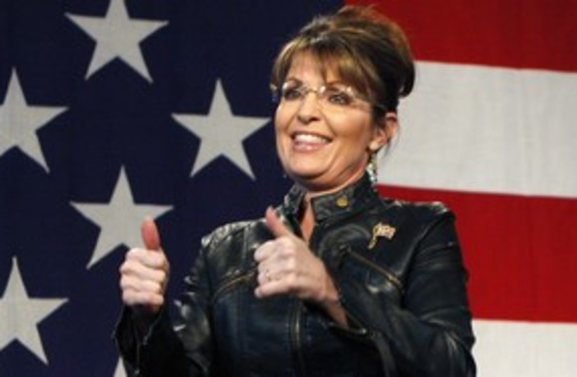 Sarah Palin 311 Reuters (photo credit: Reuters)