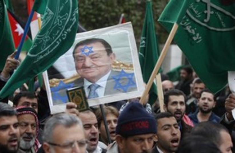 Muslim Brotherhood protests (R) 311 (photo credit: Reuters)