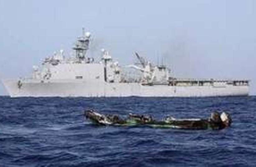US warship R 311 (photo credit: Reuters)