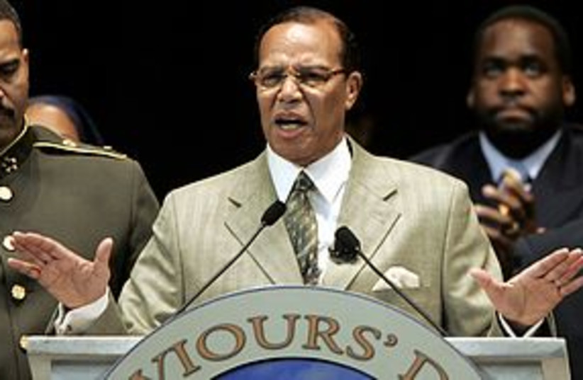 louis farrakhan 311 REUTERS (photo credit: REUTERS)