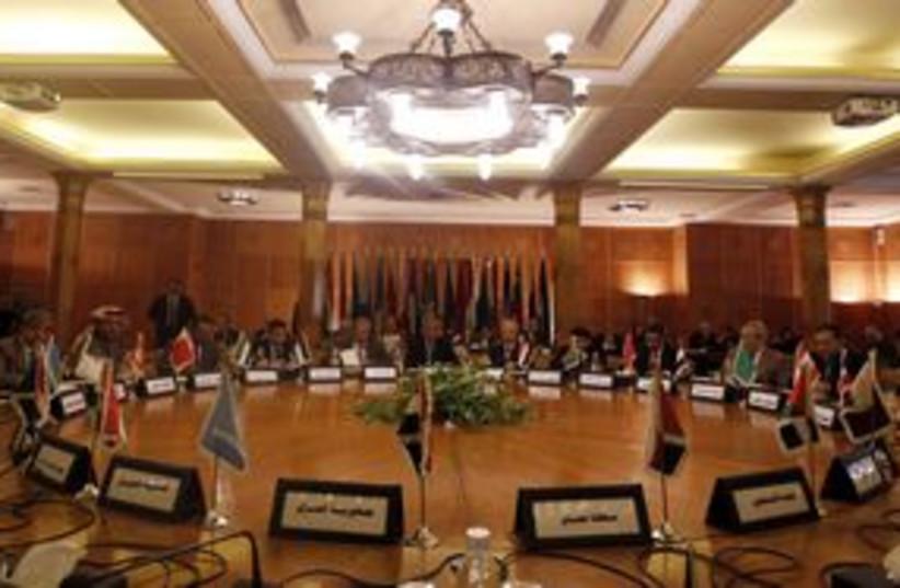 Arab League Reuters 311 (photo credit: Reuters/ Amr Abdallah Dalsh)