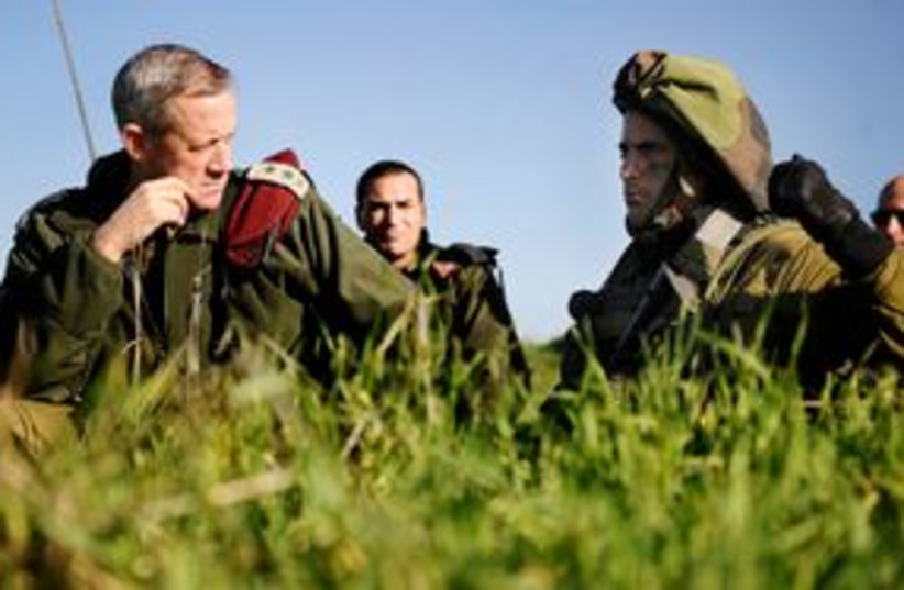 Gantz 311  (photo credit: IDF Spokesperson)