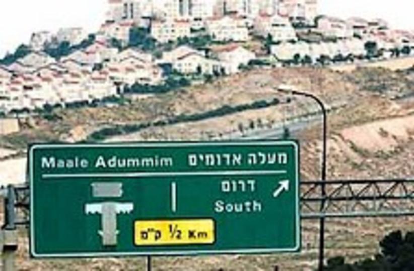maaleh adumim 224.88 (photo credit: Ariel Jerozolimski [file])