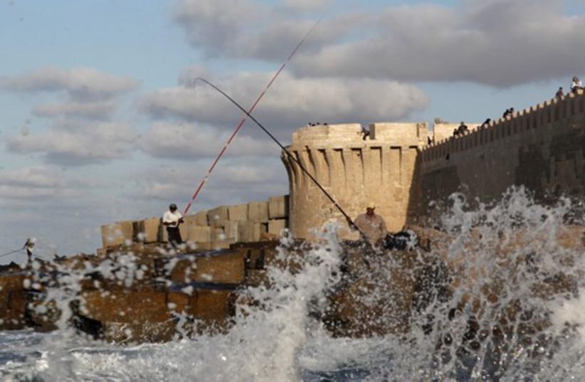Port of Alexandria_521 (photo credit: Asmaa Waguih / Reuters)