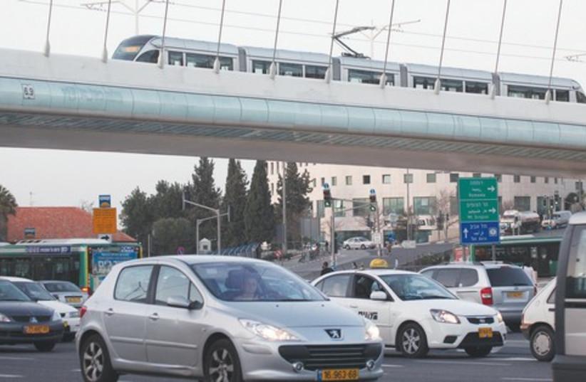 traffic in jerusalem_521 (photo credit: Courtesy)