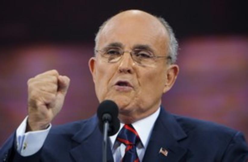 Giuliani 311 Reuters (photo credit: REUTERS)