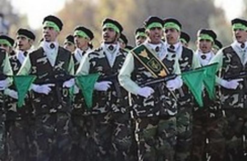 iran revolutionary guard (photo credit: AP)