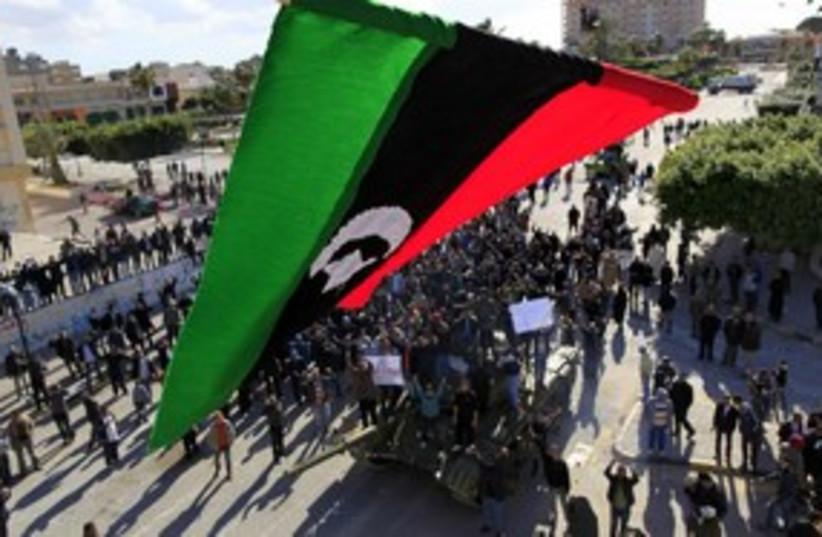 zawiyah fighting libya_311 reuters (photo credit: Ahmed Jadallah / Reuters)