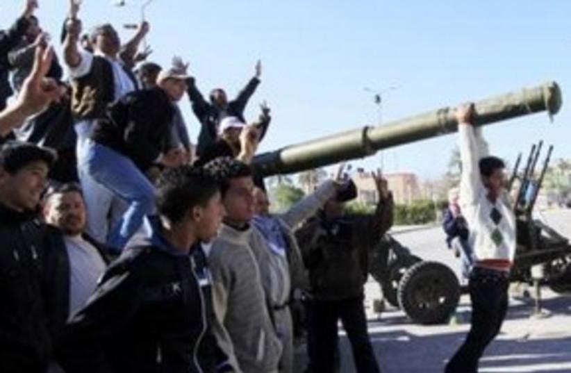 Libyan protests_Zawiyah 311 Reuters  (photo credit: Reuters )