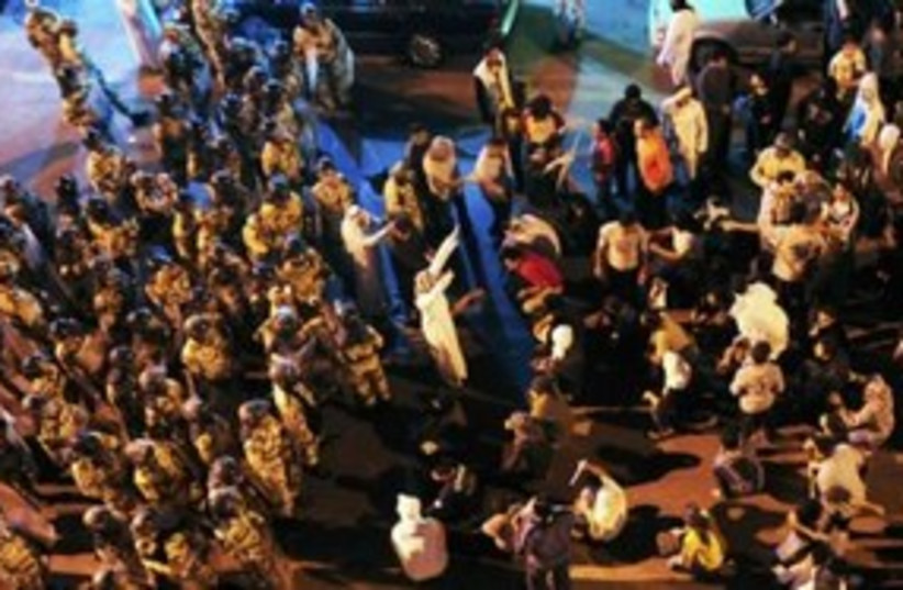 Saudi protests 311 (R) (photo credit: REUTERS)