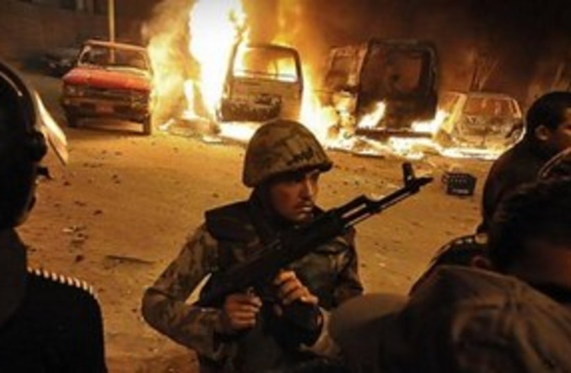 Egypt clashes 311 (R) (photo credit: REUTERS)