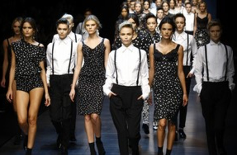 Dolce and Gabbana  (photo credit: Reuters)