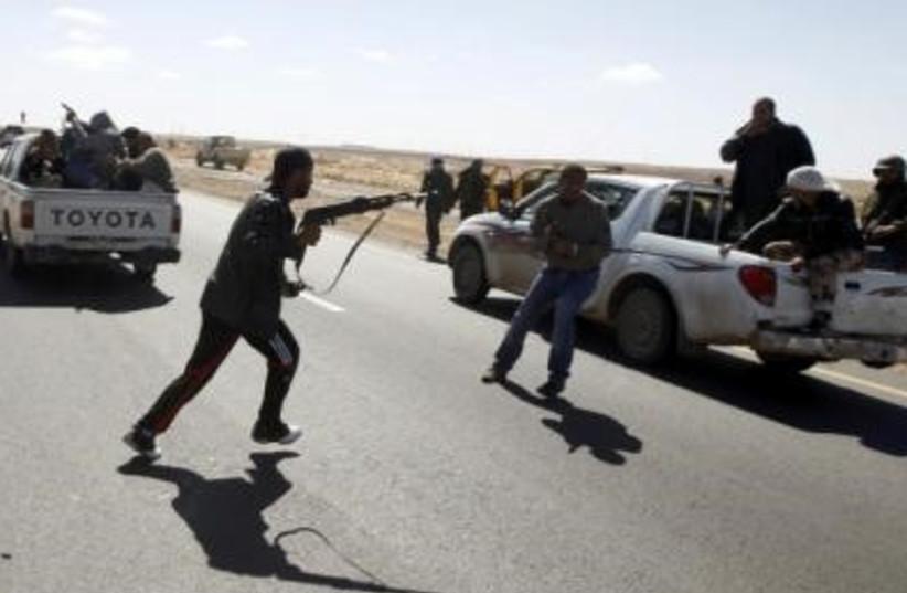 Libya Civil War 311 (R) (photo credit: REUTERS)