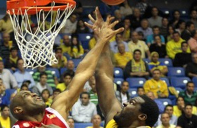 Maccabi Tel Aviv 58 (photo credit: Adi Avishai)