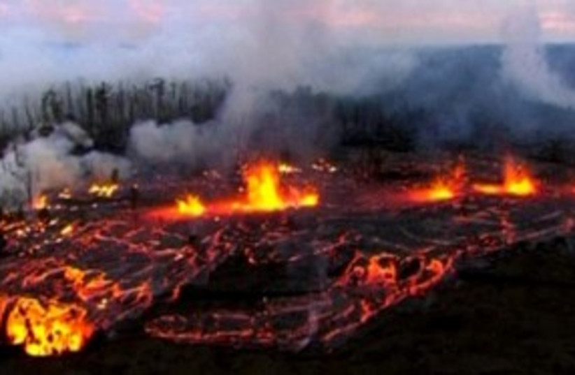 Hawaii volcano 311 (photo credit: REUTERS)