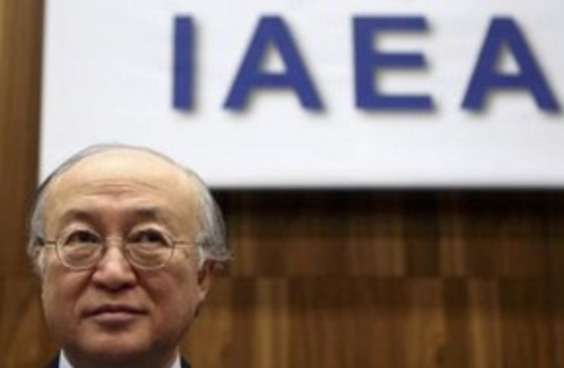 Amano 311 (R) (photo credit: REUTERS)