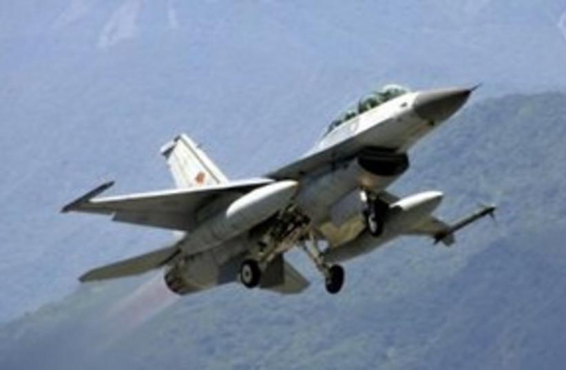 F-16 Fighter Jet 311 (R) (photo credit: REUTERS)