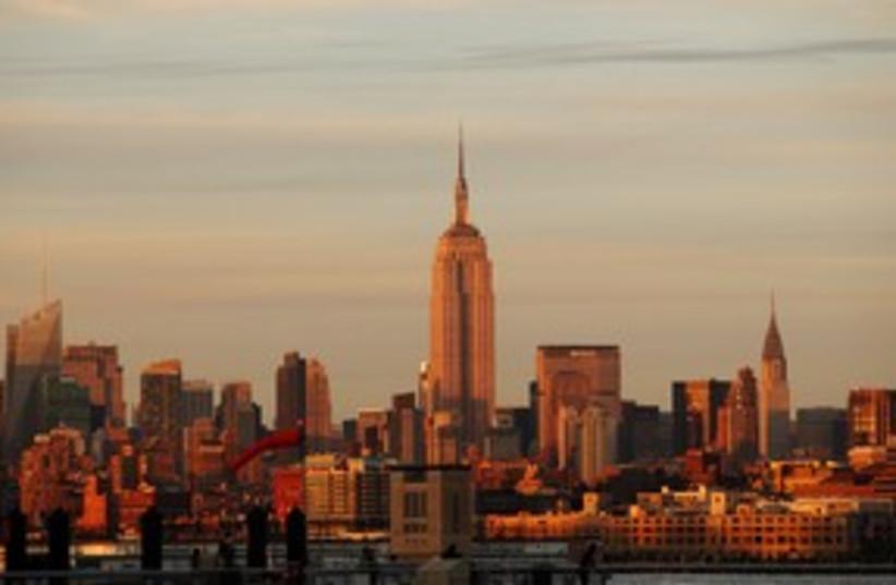 new york skyline (photo credit: Gary Hershorn / Reuters)
