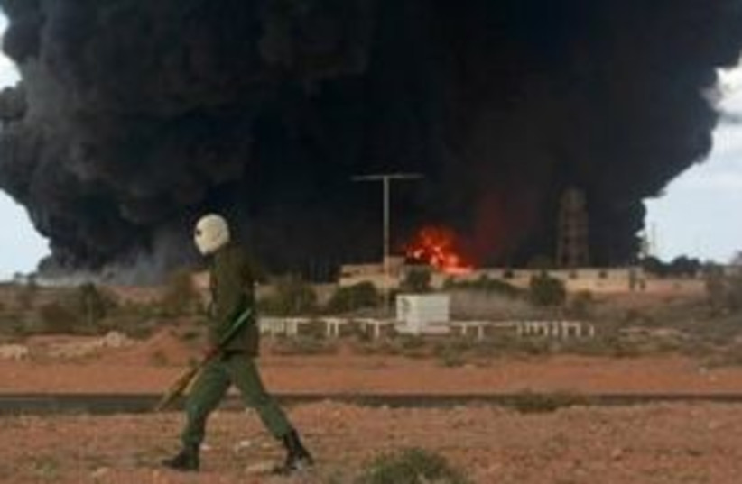 Libya rebels 311 (photo credit: REUTERS/Asmaa Waguih)