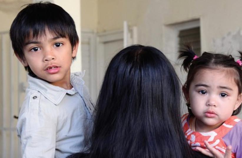 Filipino children 521 (photo credit: Marc Israel Sellem)