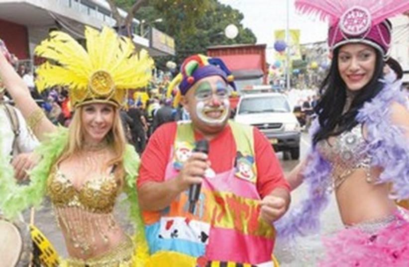Holon Purim parade 521 (photo credit: Tal Kirschenbaum)