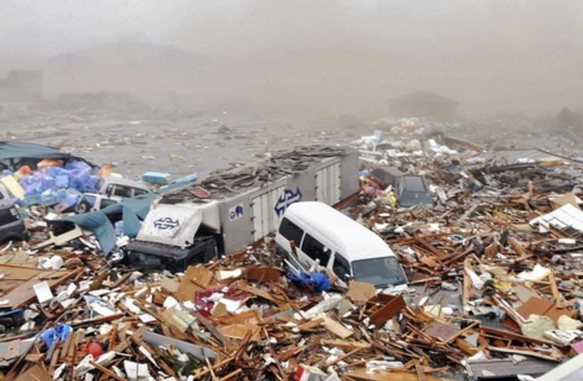 Image from Japan after an earthquake struck Friday