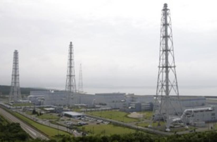 Kashiwazaki-Kariwa nuclear power plant (R) 311 (photo credit: REUTERS/Issei Kato)