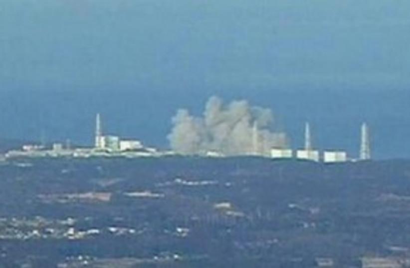 Japan nuclear explosion 311 (photo credit: REUTERS/NTV via Reuters TV)