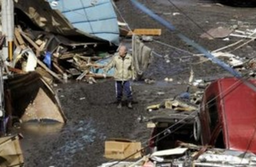 japan tsunami damage 311 (photo credit: REUTERS)