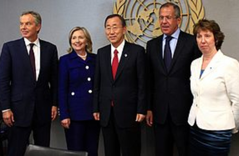 quartet REUTERS 311 (photo credit: REUTERS)