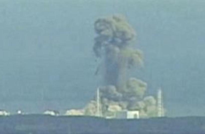 Nuclear plant explosion 311 R (photo credit: REUTERS/NTV via Reuters TV)