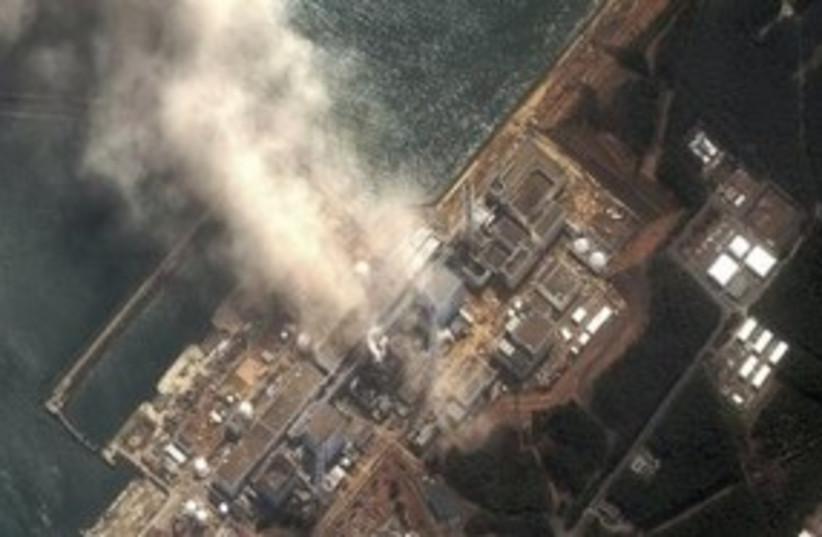 Japan Nuclear Plant Satellite 311 (R) (photo credit: REUTERS)