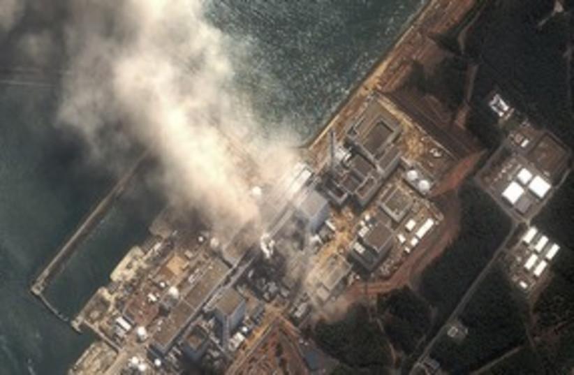 Fukushima Daiichi nuclear plant (R) 311 (photo credit: REUTERS/Ho New)