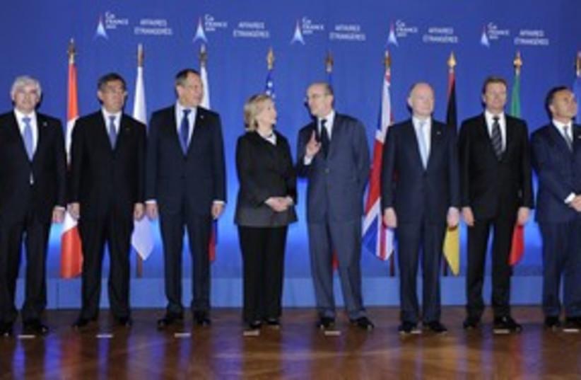 Group of 8 (G8) in paris (R) 311 (photo credit: REUTERS/Gonzalo Fuentes)
