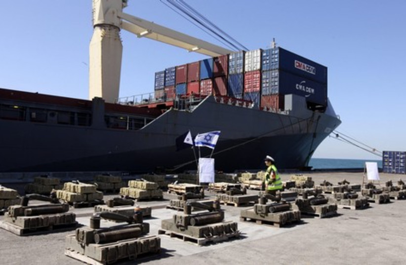 Victoria ship weapons smuggling