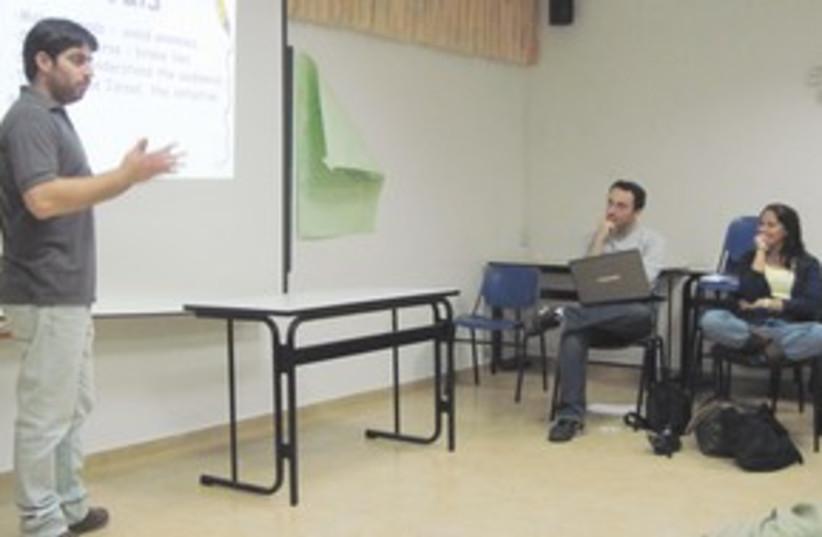 Hasbarah meeting 311 (photo credit: Courtesy)