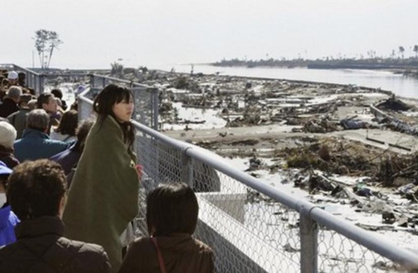 Japan tsunami 521 (photo credit: Reuters)