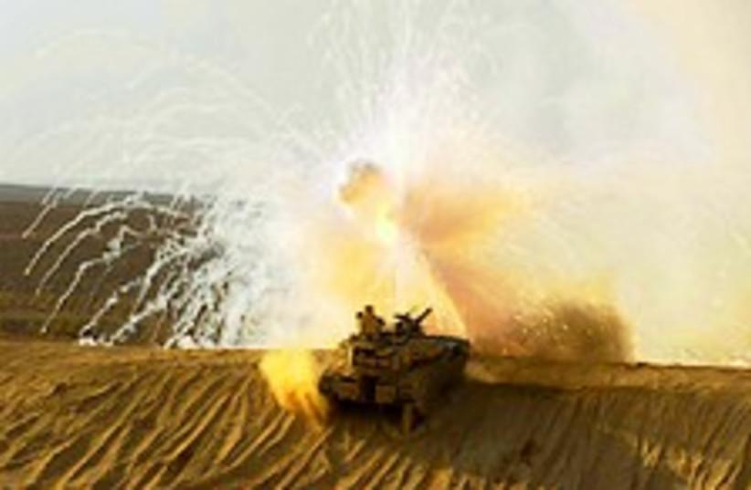 IDF tank 224.88 (photo credit: IDF )