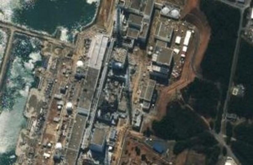 Fukushima Daiichi Power Plant in Japan (photo credit: REUTERS/DigitalGlobe/Handout)