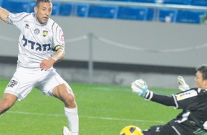 Maccabi Netanya striker Ahmed Saba 311 (photo credit: Asaf Kilger)