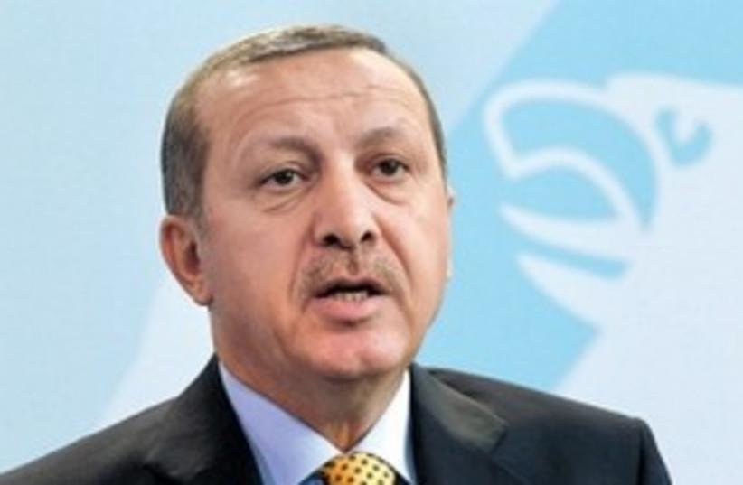 Erdogan 311 (R) (photo credit: REUTERS)