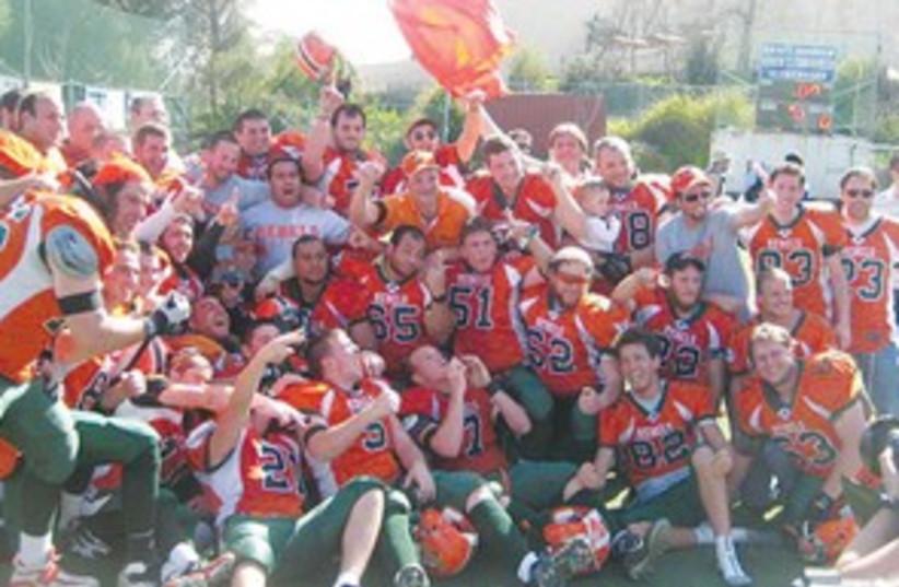 IFL Champions Judean Rebels 311 (photo credit: Courtesy)