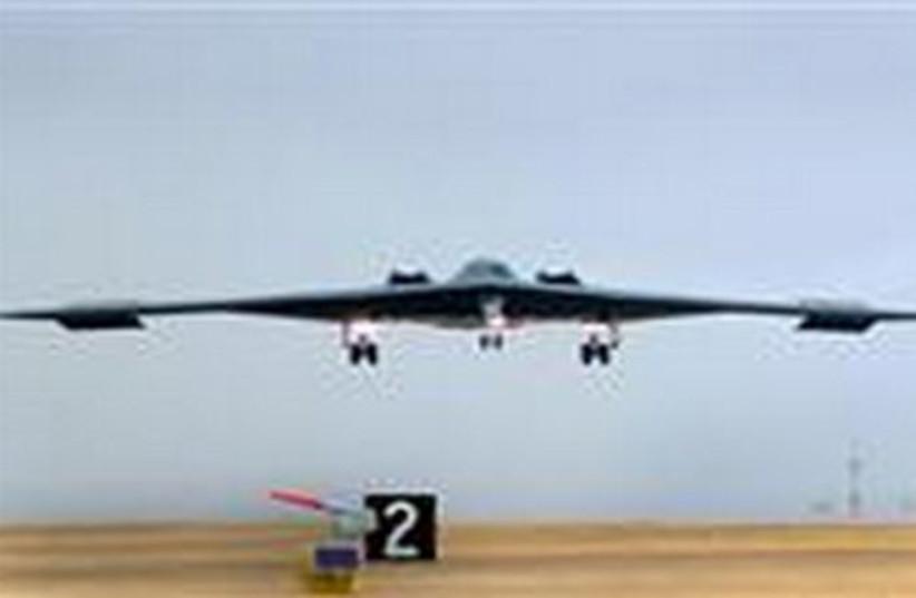 Bomber plane 520 (photo credit: REUTERS/Ho New)