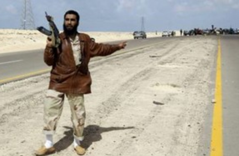 Libya 311 (photo credit: REUTERS)