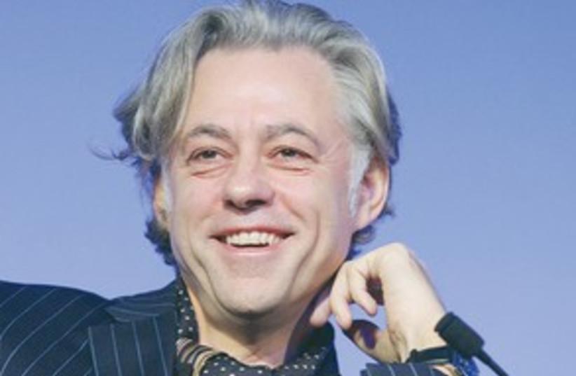 Bob Geldof smiling 311 (photo credit: Kruger Cowne Ltd)