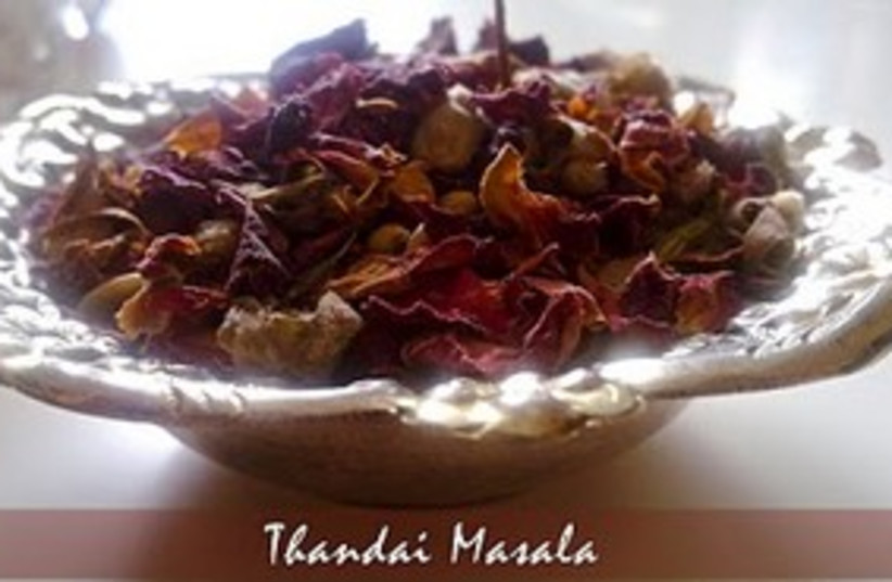 Thandai Masala (photo credit: Courtesy of Vegetarian Tastebuds)