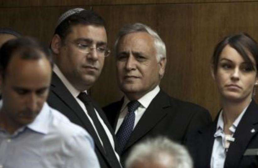 Katsav (photo credit: Reuters)